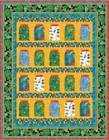 Rainforest Buzz pattern