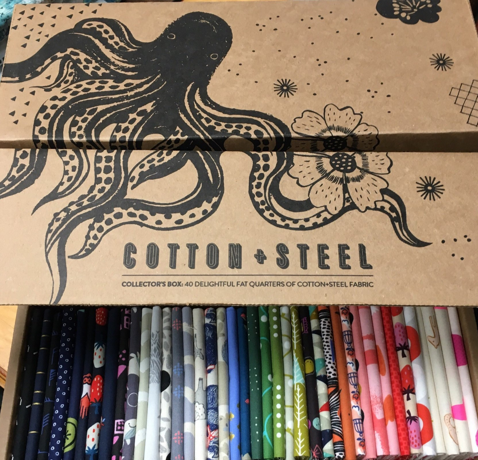 COTTON AND STEEL COLLECTORS BIG BOX