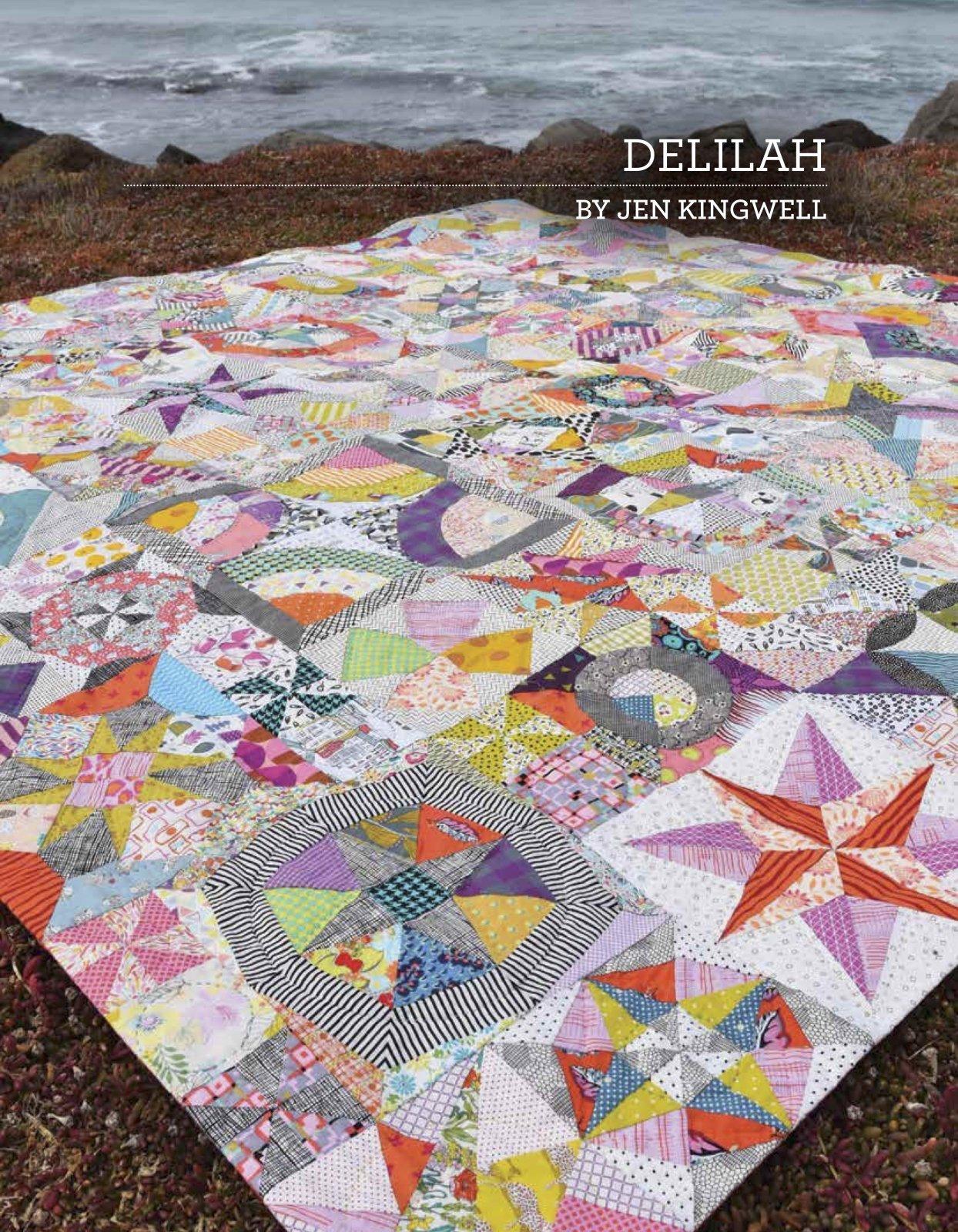 DELILAH - PATTERN BOOK - JEN KINGWELL