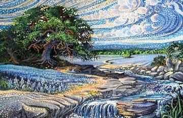 ARTISAN SPIRIT DREAMSCAPE - SINGLE PANEL - SUMMER TREE - DP21295 2