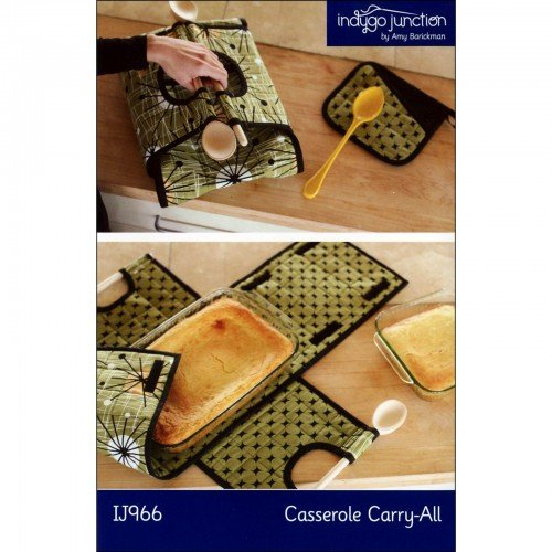 CASSEROLE CARRY ALL -  PATTERN - INDYGO JUNCTION