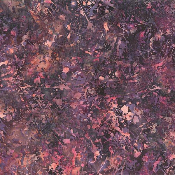 BALI BATIK - PAINT SPLATTER - WILD BERRY - Q2174-405