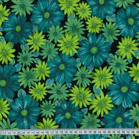 OUTBACK WIFE - AUTHENTIC BARKCLOTH - MARY - GREEN - 58 WIDE - TE 6013 G