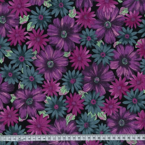 OUTBACK WIFE - AUTHENTIC BARKCLOTH - MARY - PURPLE - 58 WIDE - TE 6013 PU