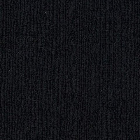 OUTBACK WIFE - AUTHENTIC BARKCLOTH - SOLID - BLACK - 58 WIDE - TE 6014 BK