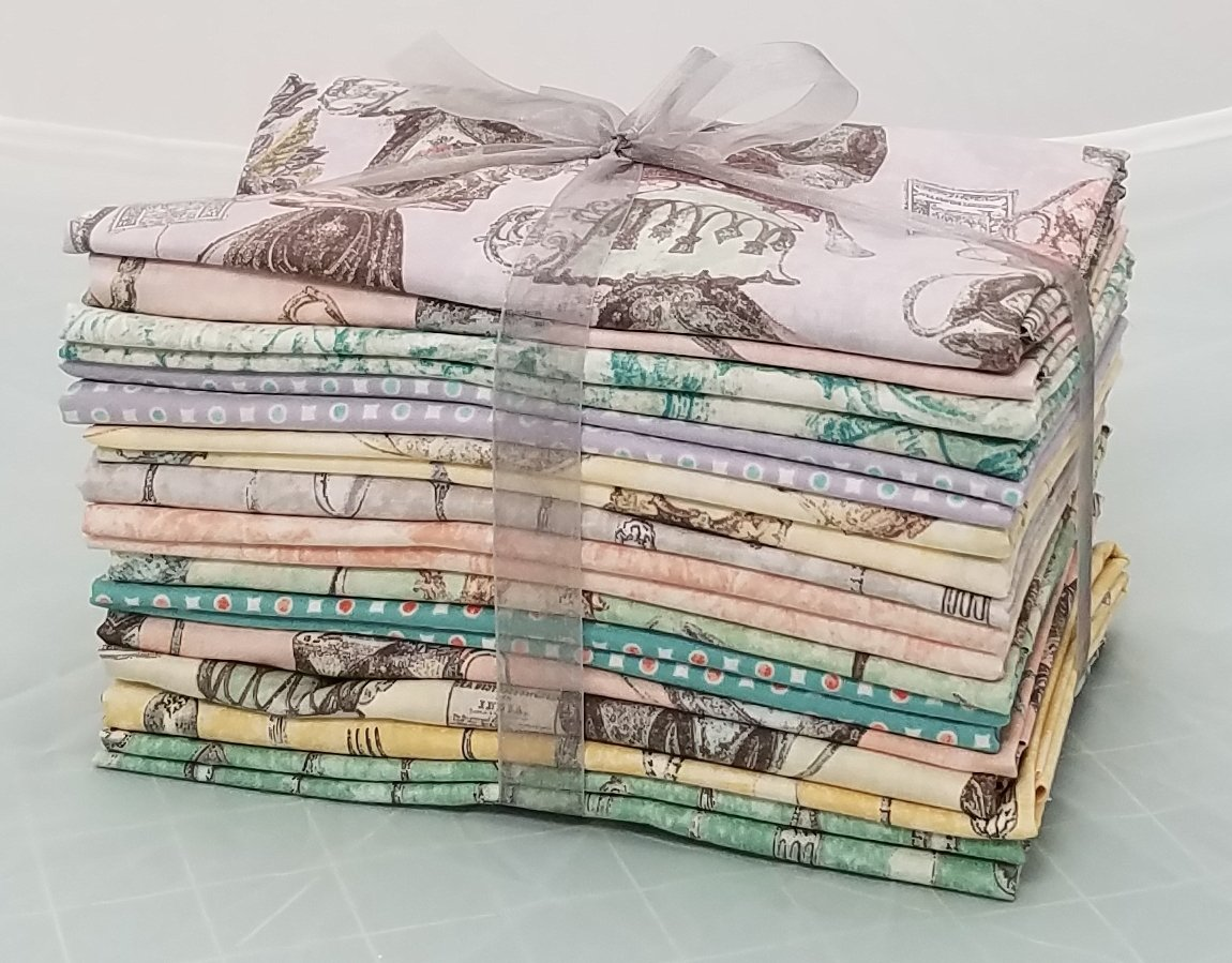 TEA TIME - SPRING BUNDLE - (1/2 YD CUTS)