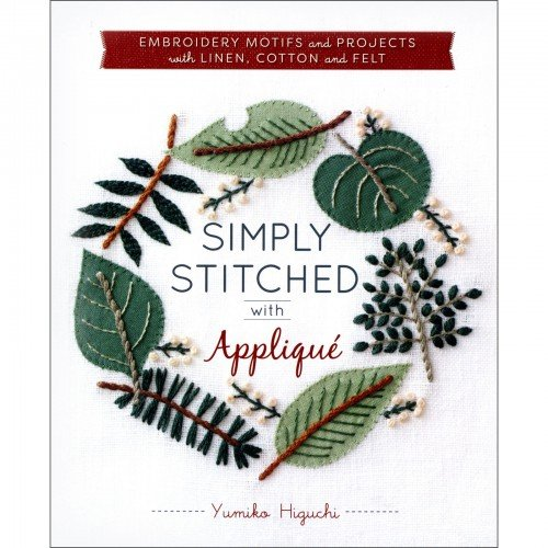 SIMPLY STITCHED WITH APPLIQUE - BOOK