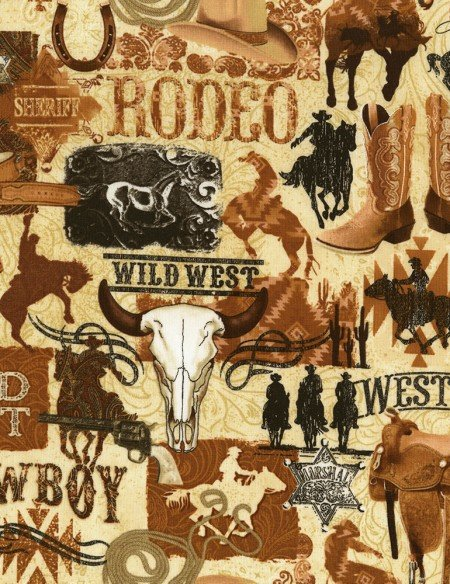 WILD WILD WEST - TOSS - VINTAGE - WEST-C6303