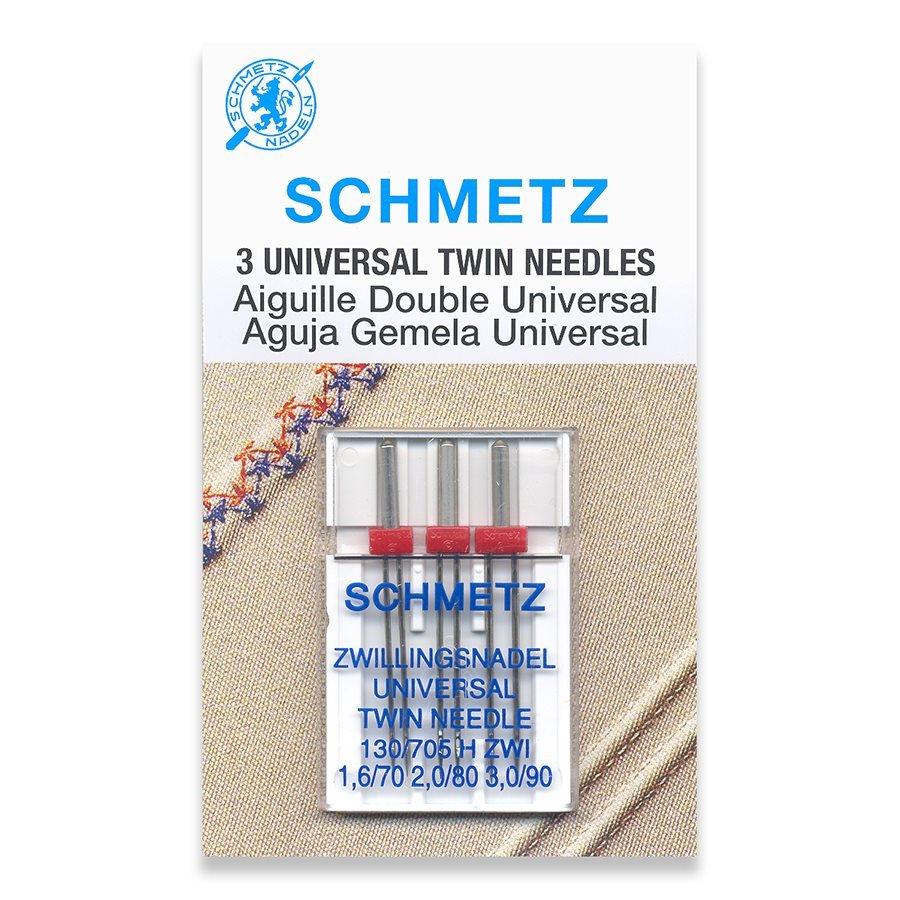 #1788 Schmetz Universal Twin Needle Ass't