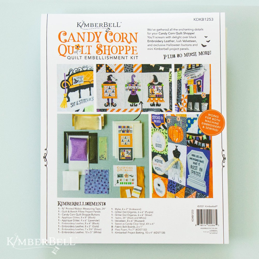 Kimberbell Candy Corn Quilt Shoppe Embellishment Kit