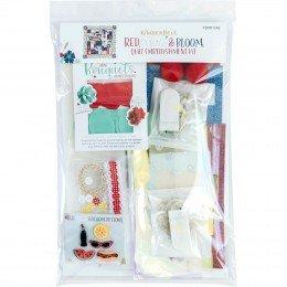 Kimberbell Red White & Bloom Embellishment Kit