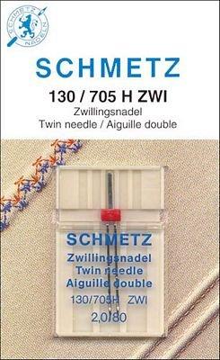#1716 Schmetz Universal Twin Needle 2.0/80