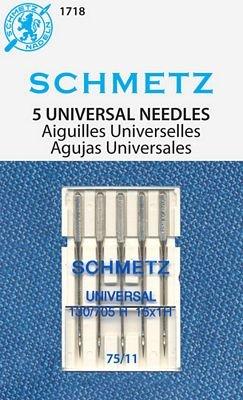 #1718 Schmetz Universal Needles 75/11