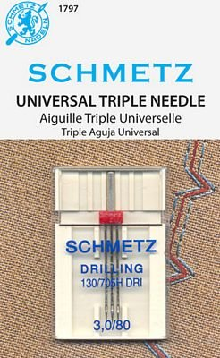 #1797 Schmetz Universal Triple 3.0/80
