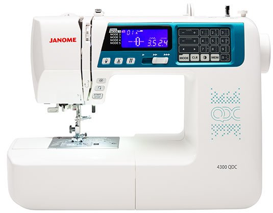 Janome 4300QDC Sewing/Quilting