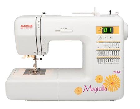 7330 Magnolia Computerized Sewing Machine Janome
