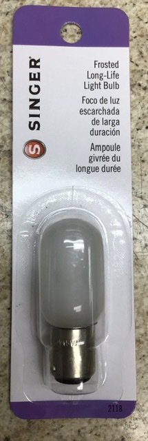 Singer Bayonet Bulb - 15w Frosted