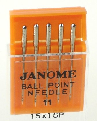 Needles - Sz11 BP 5pk Janome