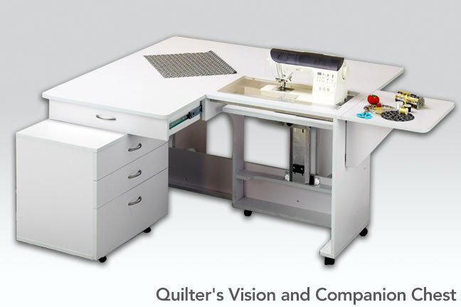 Quilters Vision w/Component - White Tailormade