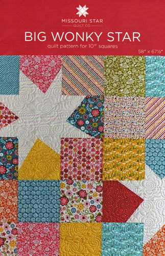 Big Wonky Star Quilt Pattern From Missouri Star Quilt Co