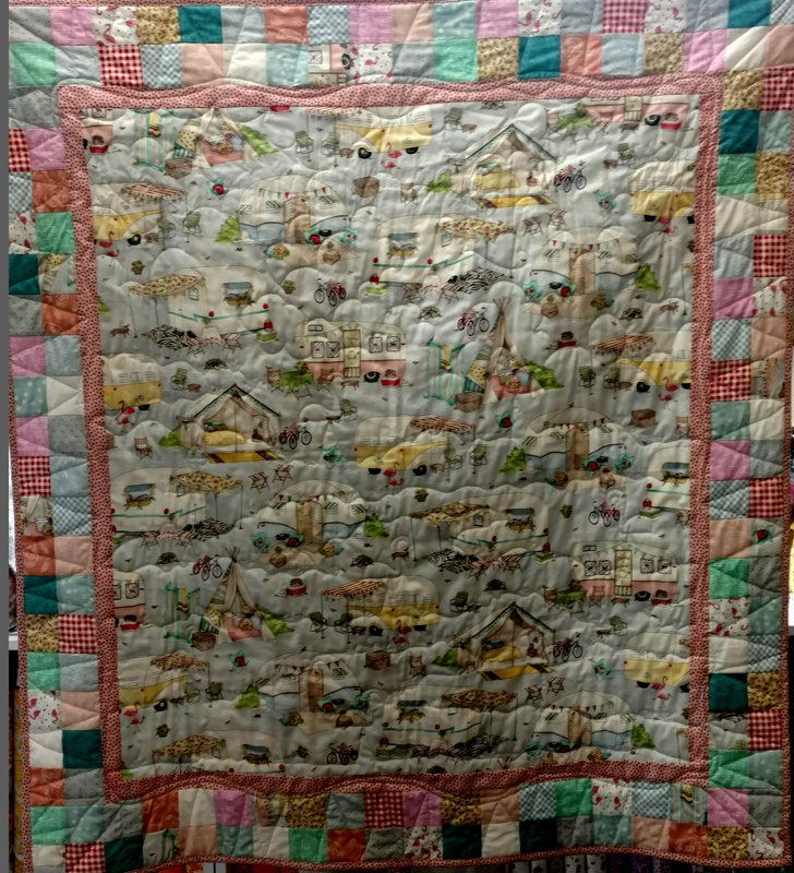 Camping Quilt Images