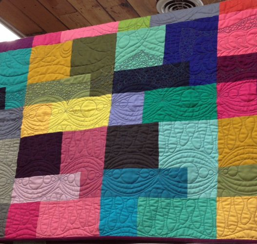 Colored Happy Quilt Kit : happy quilt - Adamdwight.com