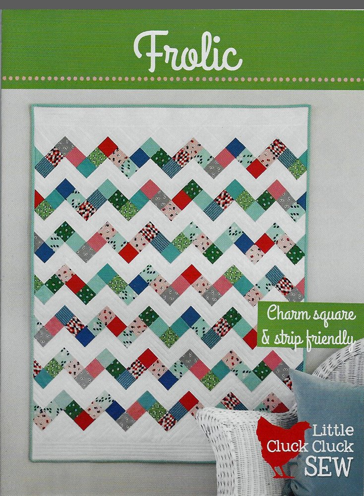 Frolic Quilt Pattern from Little Cluck Cluck Sew