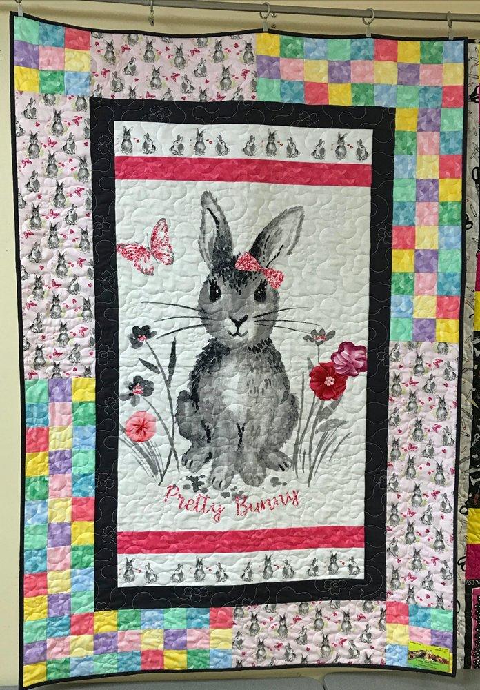 Happy Bunny Spotlight Quilt Kit
