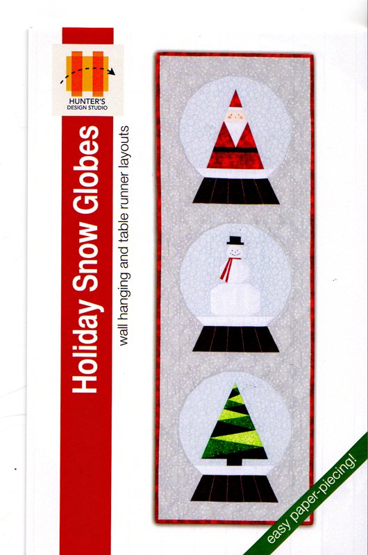 Holiday Snow Globes Wall Hanging And Table Runner Pattern From Hunter Design Studio