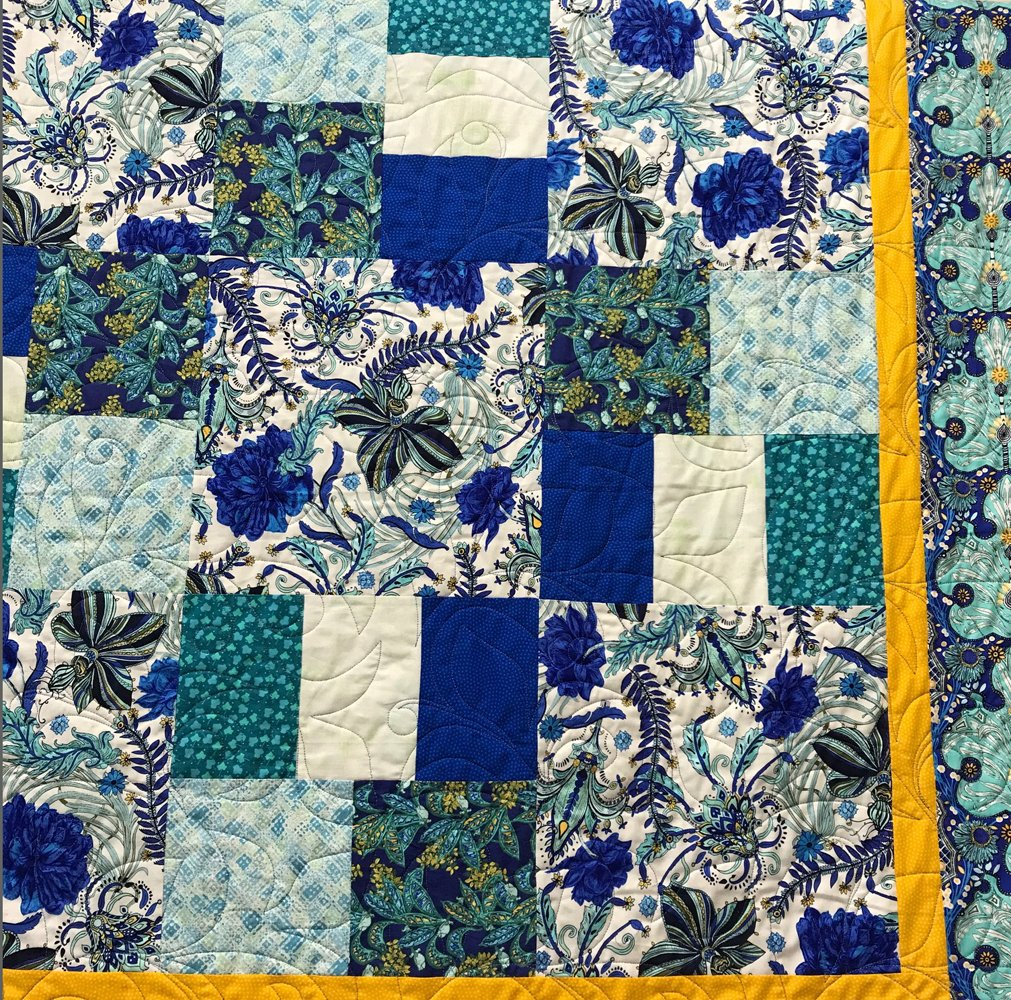 Just Can't Cut It Quilt Kit in Persia