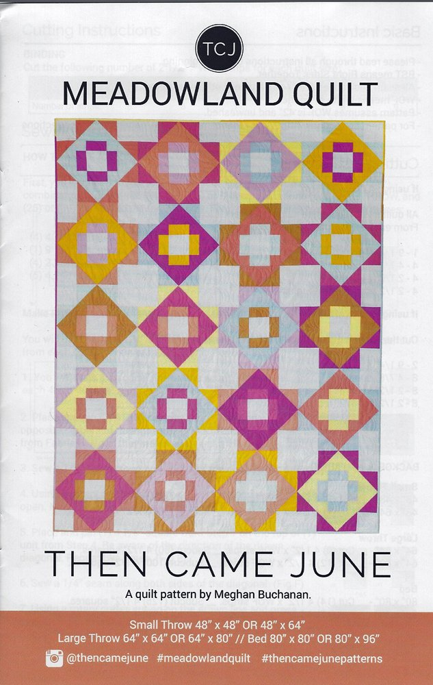 Meadowland Quilt Pattern by Meghan Buchanan