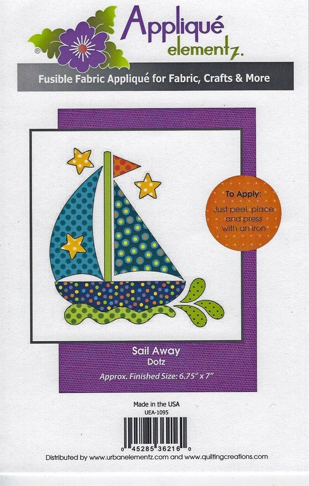 Applique Elementz Sail Away