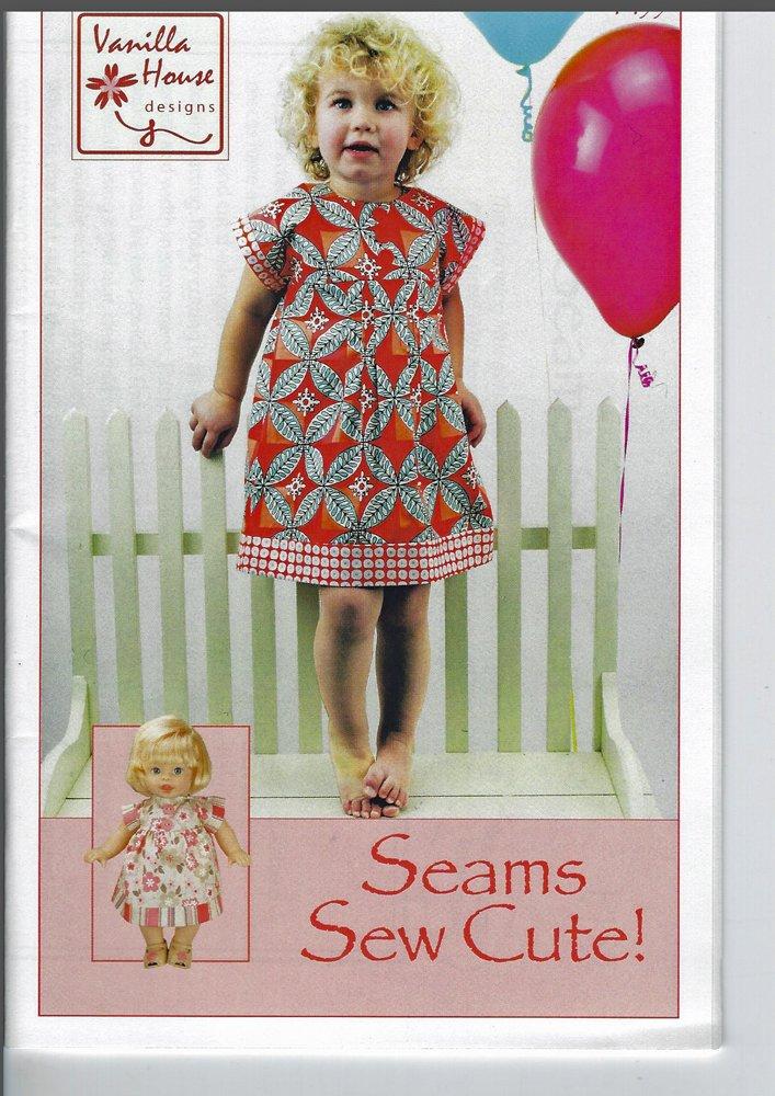 Seams So Cute! Little Girl's Dress Pattern