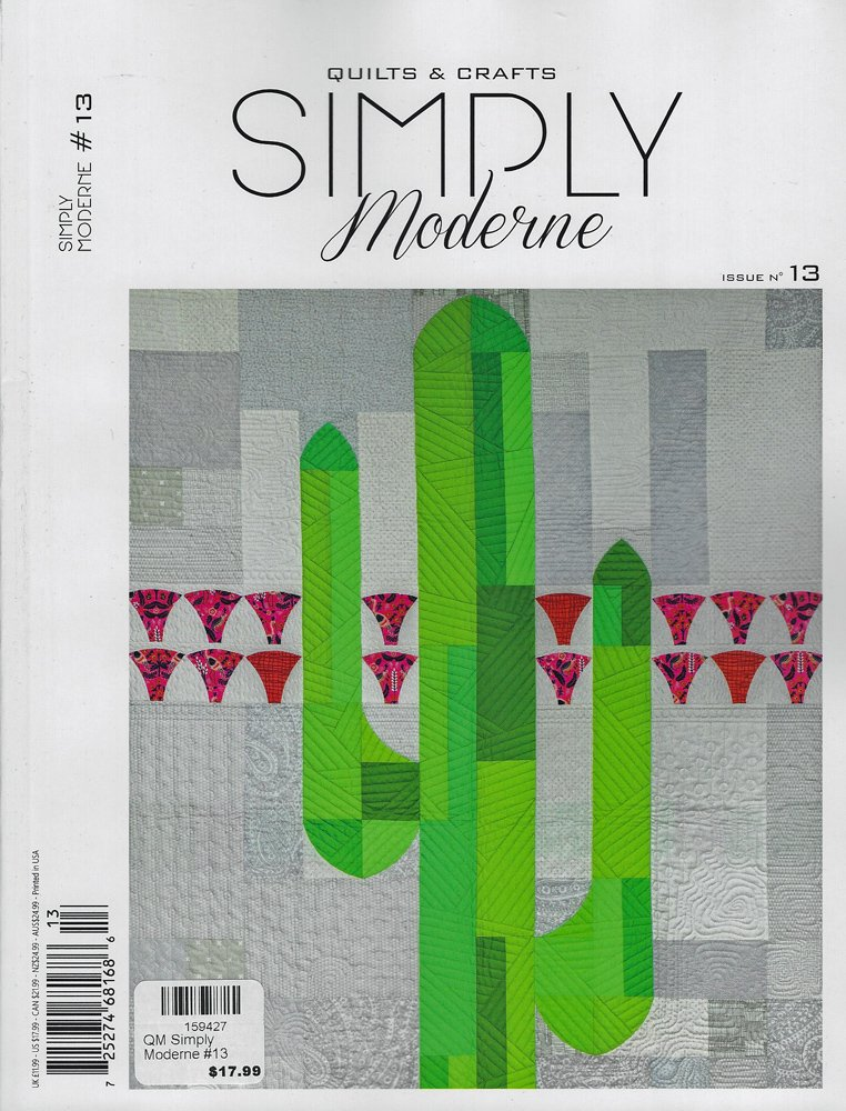 Simply Moderne Quilts & Crafts Issue # 13