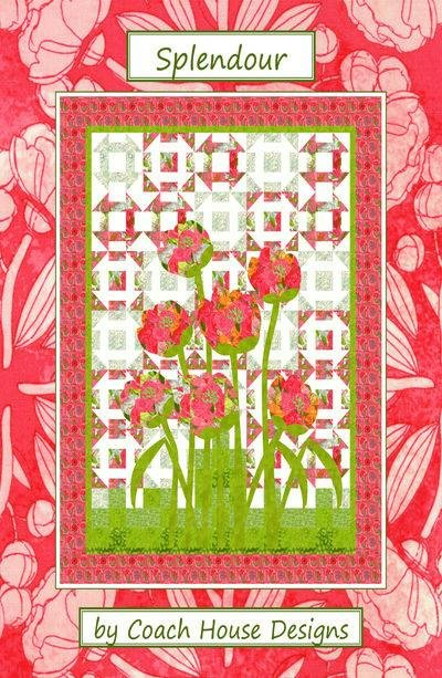 Splendour Quilt Pattern from Coach House Designs