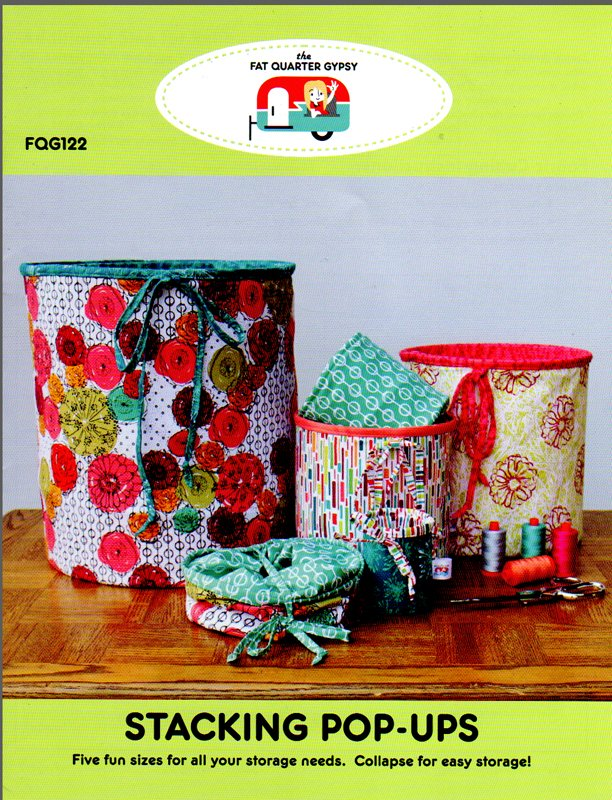 Stacking Pop-Ups Pattern from the Fat Quarter Gypsy