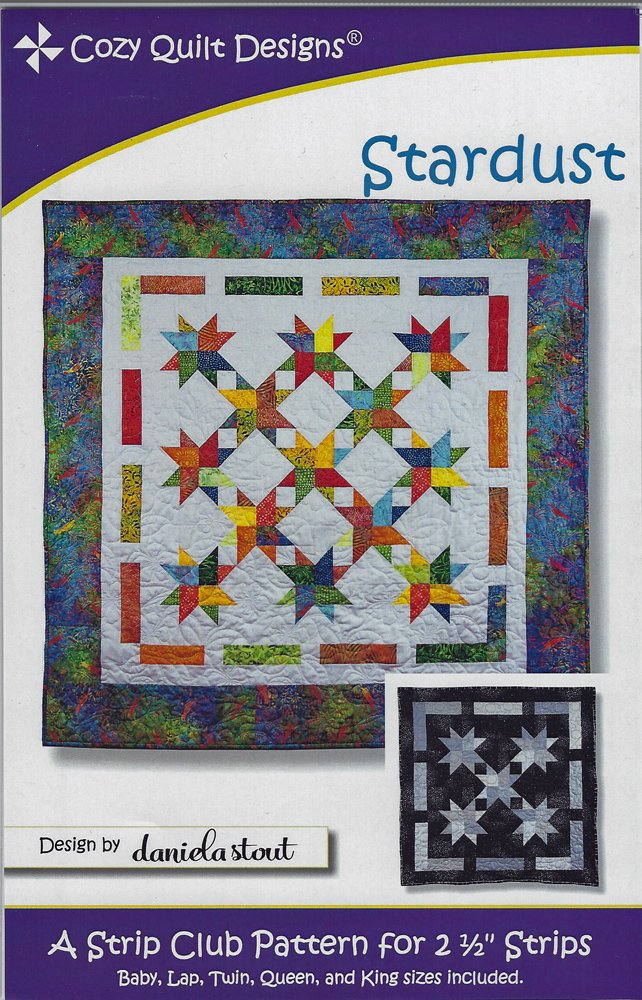 Stardust Quilt Pattern from Cozy Quilt Designs