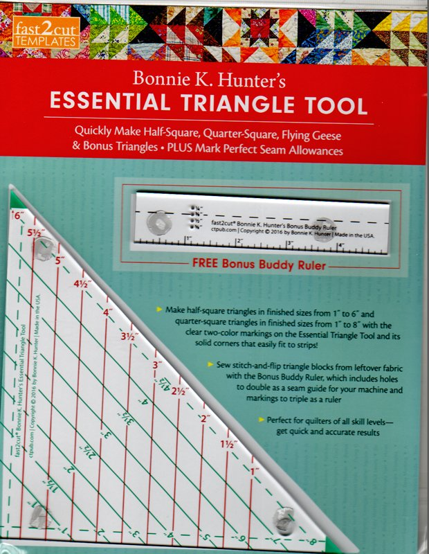 Bonnie K. Hunter's Essential Triangle Tool