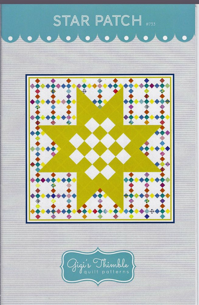 Star Patch Quilt Pattern from Gigi's Thimble