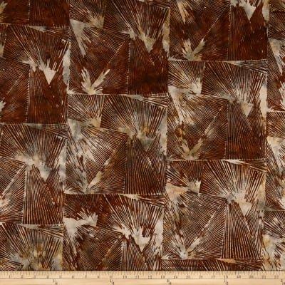 HOFF- Bali Batiks Abstract Geode Woody (Brown)