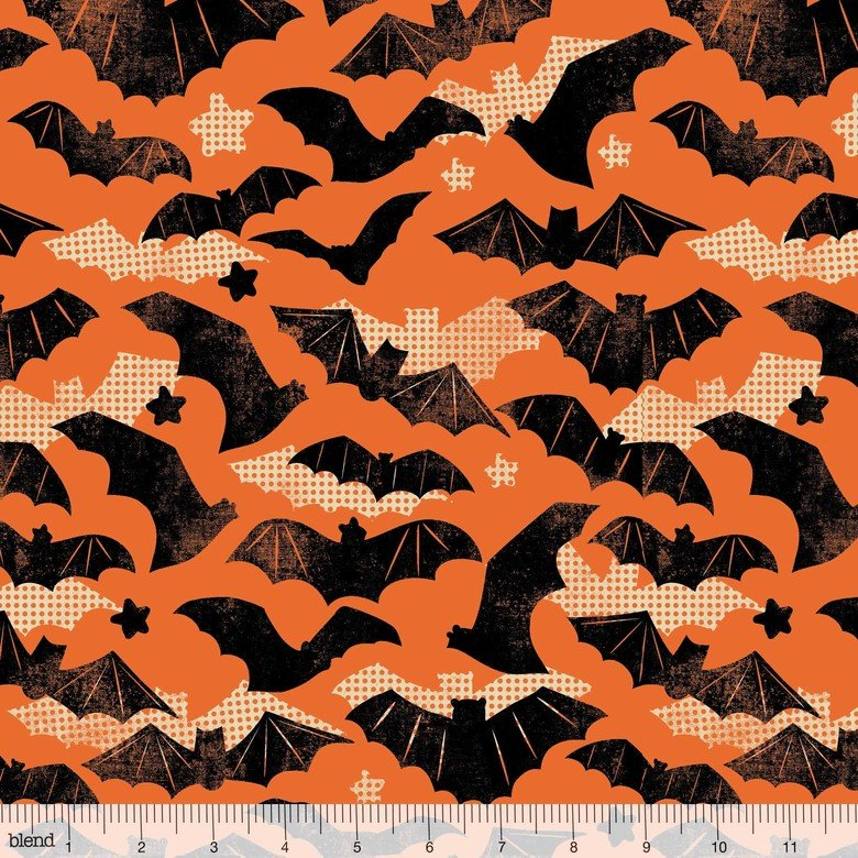 BLEND- Spooktacular Gone Batty On Orange