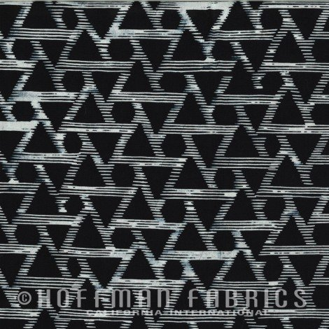 HOFF- Hand Dyed Batiks Textured Diamonds Zebra