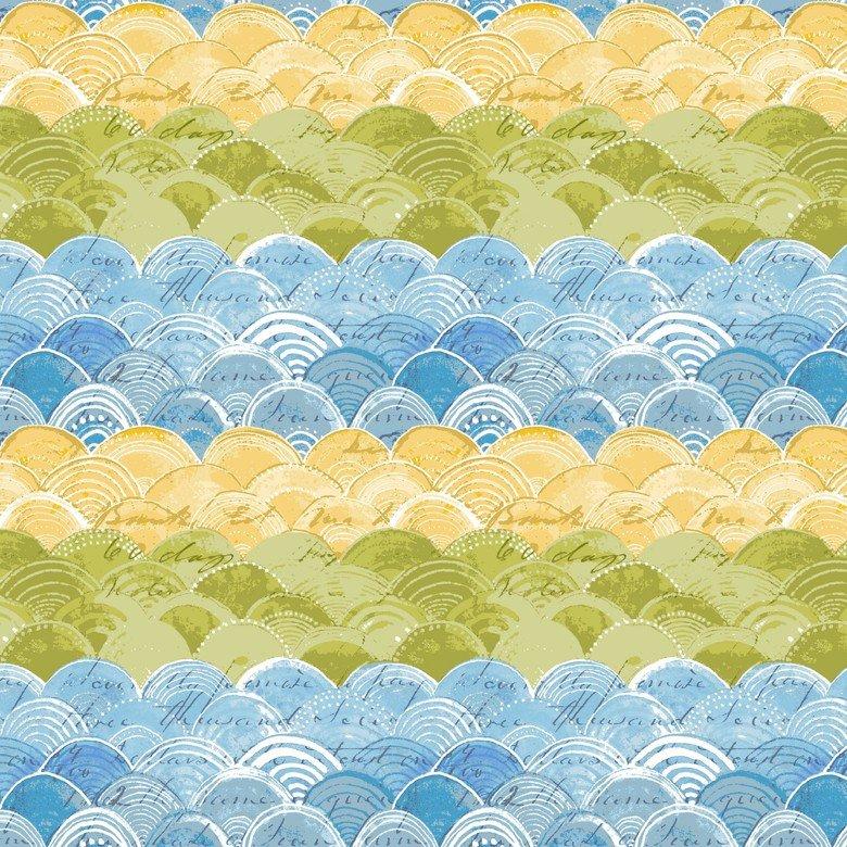 BLEND- Hello World blue/lime clamshells