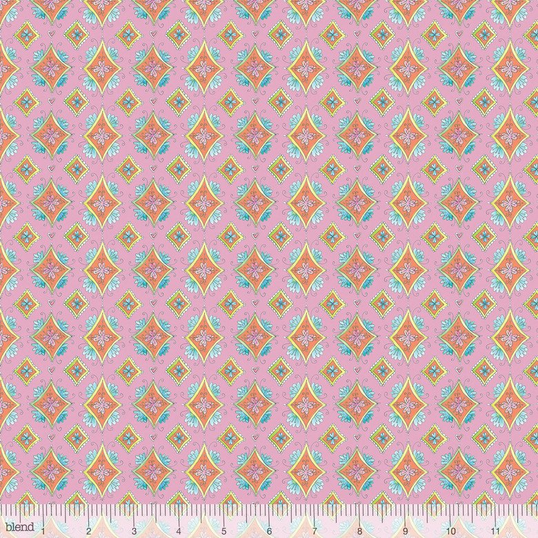 BLEND- Waltz of Whimsy Pixie Pink Diamonds