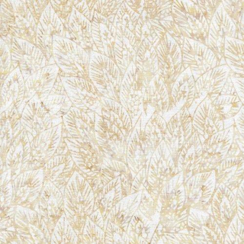 IB- Large Wheat Leaves Hemp Batik