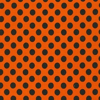 KAUF- Spot On Black Dot on Orange