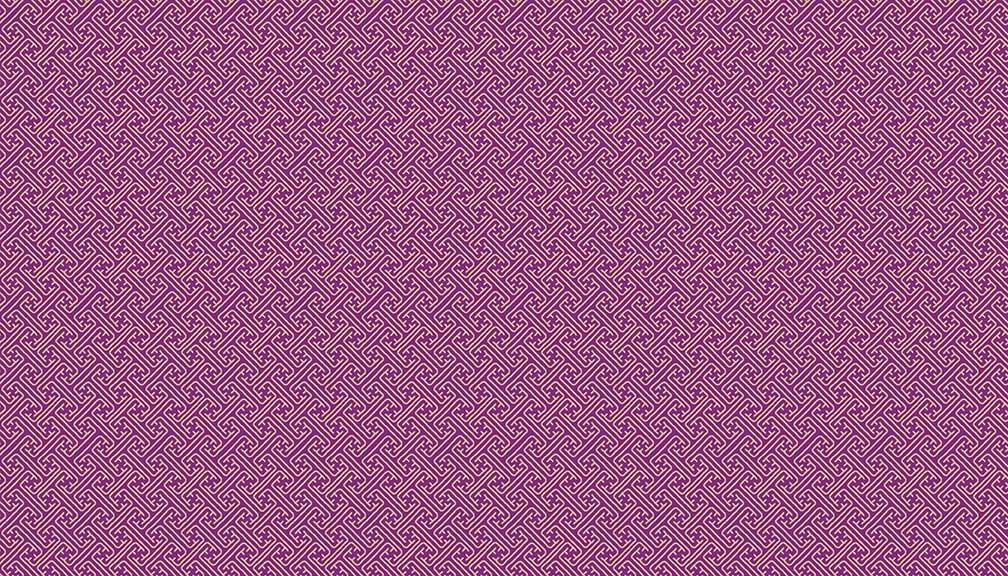 ANDMAK- Kimono Gold Metallic On Violet