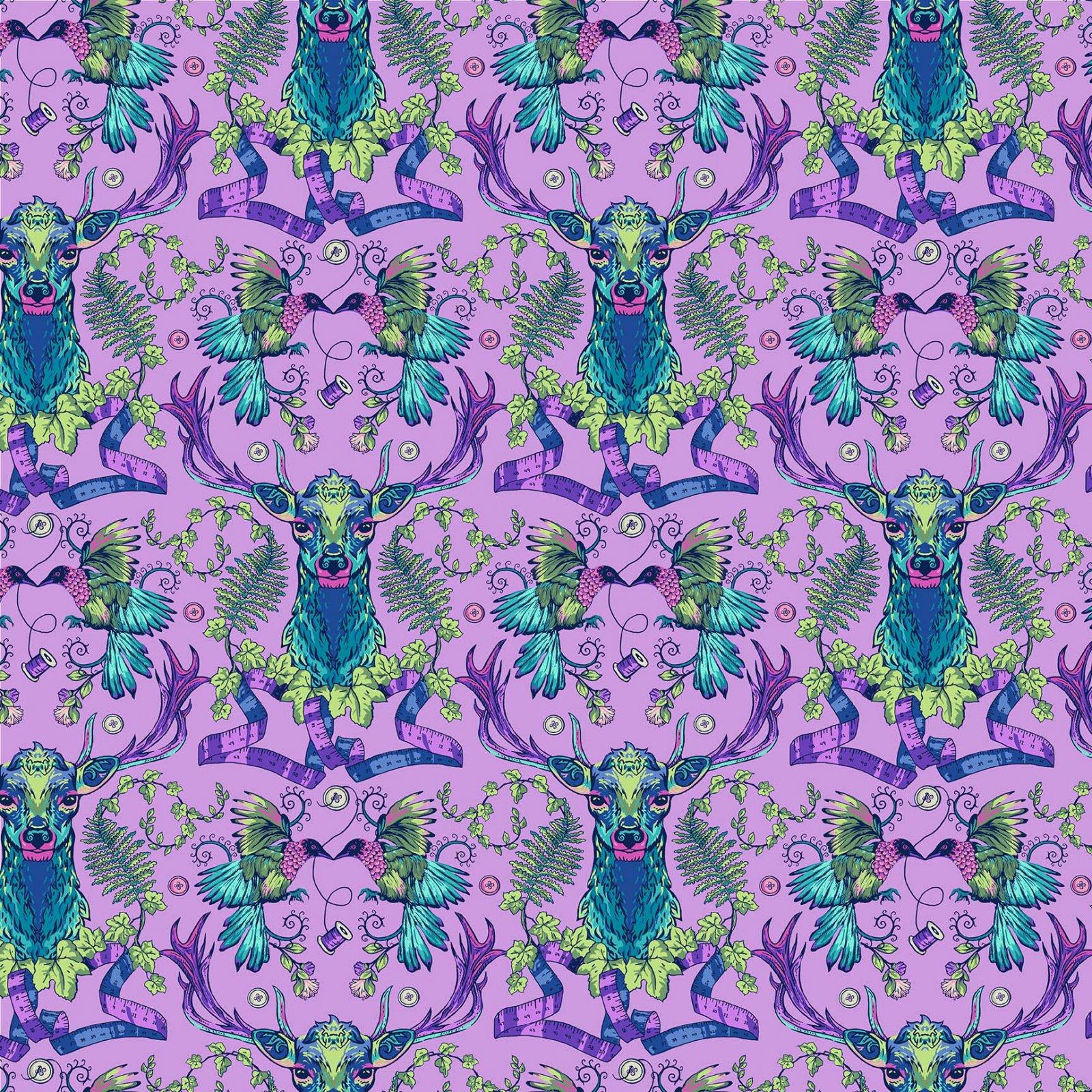 NORTH- Stag and Thistle Light Purple Deer Ridge