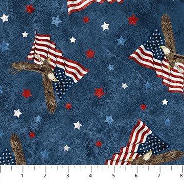 NORTH- Stonehenge Stars & Stripes 8 Navy Soaring Eagles