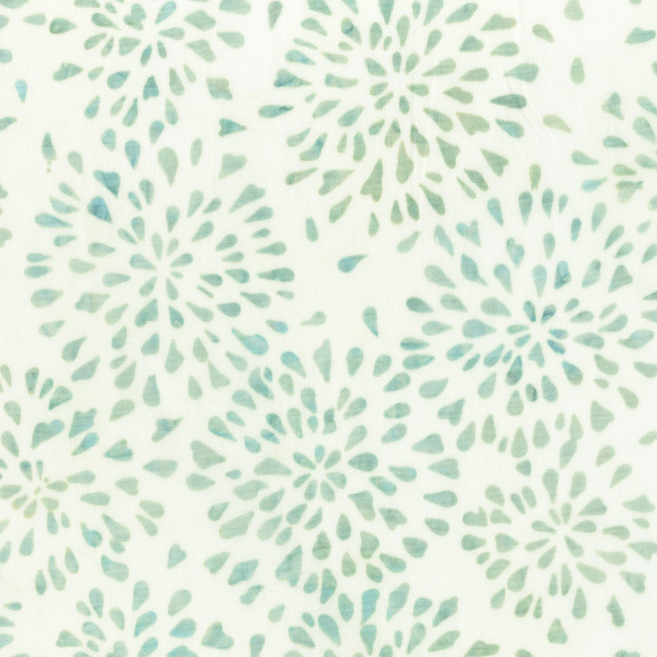 ANTH- Starburst Batik Pale Sea Green